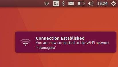 Screenshot of WIFI resuming after suspend on XPS Developer Edition